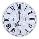 Twarz zegar ilustracja wektor