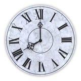Twarz zegar ilustracji