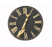 twarz zegara Obrazy Stock