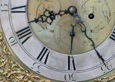 twarz zegara obraz royalty free