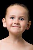 twarz zrobić dziecko zdjęcie stock