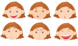 twarze Obrazy Stock