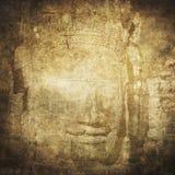 Twarze Bayon świątynia, Angkor, Kambodża zdjęcia royalty free