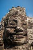 Twarze Bayon świątynia, Angkor, Kambodża obraz royalty free