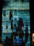 Twarze realem Odczuwają 3dsense na Sygnałowym festiwalu Praga obrazy stock