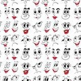 Twarzowa expressions Obrazy Stock