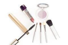 Twarzowi kosmetyki ustawiający Fotografia Stock