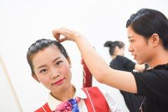 Twarzowy Makeup szkolenie Obraz Stock