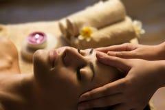 Twarzowy zdroju masaż Obraz Royalty Free