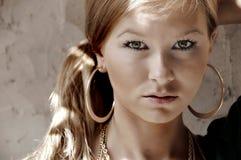 twarzy dziewczyna ładny s zdjęcie royalty free