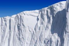twarzy góra lodowa Fotografia Stock