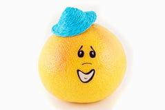 twarzy grapefruit Obrazy Stock