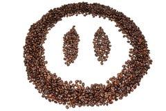Twarzy kawa Zdjęcie Royalty Free