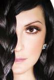 twarzy kobieta zdjęcia stock