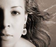 twarzy kobieta Zdjęcie Royalty Free