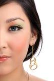 twarzy kobiety połówka Fotografia Royalty Free