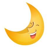 twarzy księżyc Fotografia Royalty Free