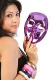 twarzy maski kobieta Obraz Stock