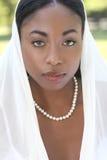 twarzy muslim przesłony kobieta Fotografia Royalty Free