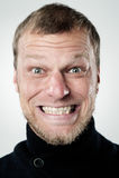twarzy niemądry śmieszny Obrazy Stock