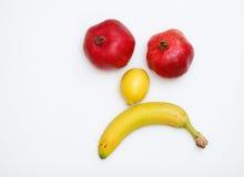 twarzy owoc zrobili obrazy stock