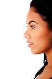 twarzy piękna biznesowa strona Zdjęcia Royalty Free