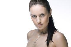 twarzy piękna kobieta obraz stock