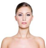 twarzy piękna kobieta zdjęcie royalty free