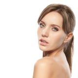 twarzy piękna kobieta fotografia stock