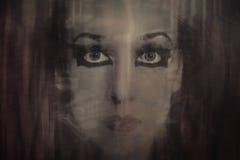 twarzy potomstwa makeup kobiety potomstwa Fotografia Royalty Free
