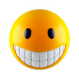 twarzy smiley Fotografia Stock
