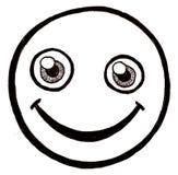 twarzy smiley Zdjęcie Royalty Free