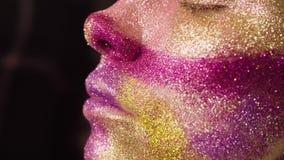 Twarzy sztuka Makijażu artysty obraz zbiory