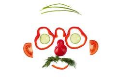 twarzy warzywo Obrazy Stock