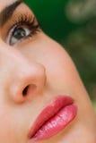 twarzy zmysłowi kobiety potomstwa Obraz Stock