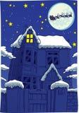 twas νύχτας Χριστουγέννων Στοκ Εικόνες