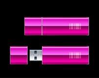 Twee Aandrijving van de Flits USB Royalty-vrije Stock Foto's