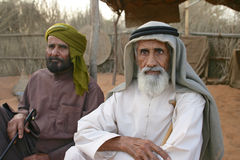 Twee Arabische Mensen Stock Afbeeldingen