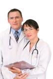 Twee Artsen Stock Afbeeldingen