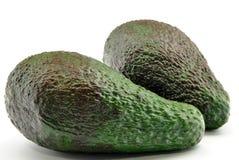 Twee avocado's Royalty-vrije Stock Fotografie