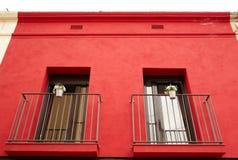 Twee balkons. Stock Fotografie
