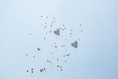 Twee ballons Royalty-vrije Stock Afbeeldingen