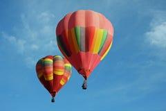 Twee ballons Stock Afbeeldingen