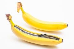 Twee bananen Stock Afbeelding