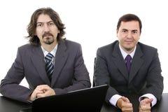 Twee bedrijfsmensen Stock Foto