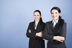 Twee bedrijfsvrouwen Stock Foto