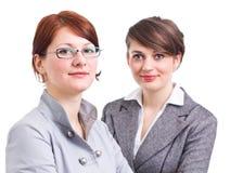 Twee bedrijfsvrouwen Royalty-vrije Stock Afbeeldingen