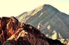 Twee bergen Royalty-vrije Stock Foto's