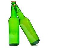 Twee bieren Royalty-vrije Stock Fotografie