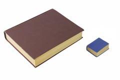 Twee boeken Royalty-vrije Stock Afbeeldingen